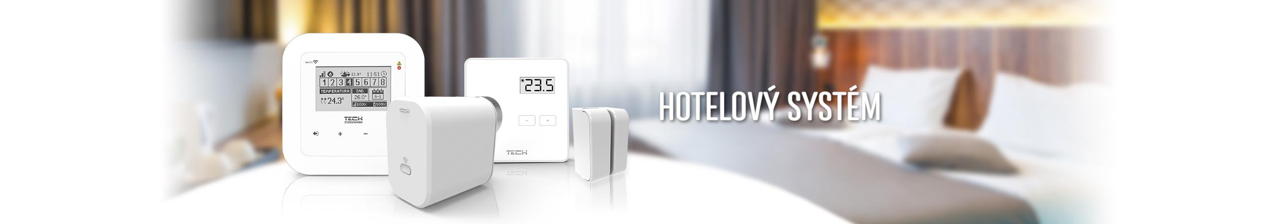 Hotelový systém - TECH Sterowniki