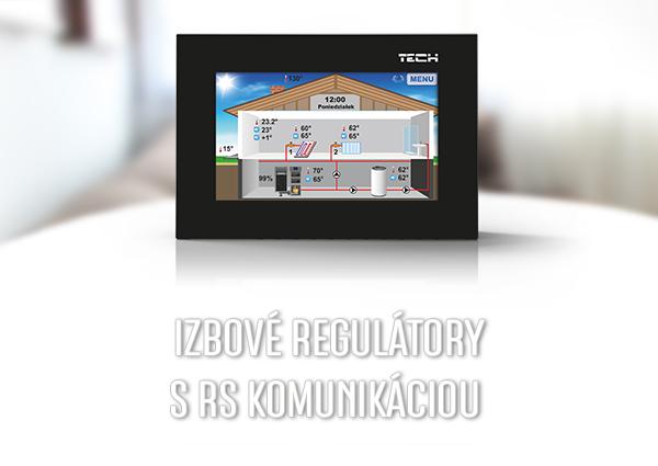 Izbové regulácie s RS komunikáciou - TECH Sterowniki
