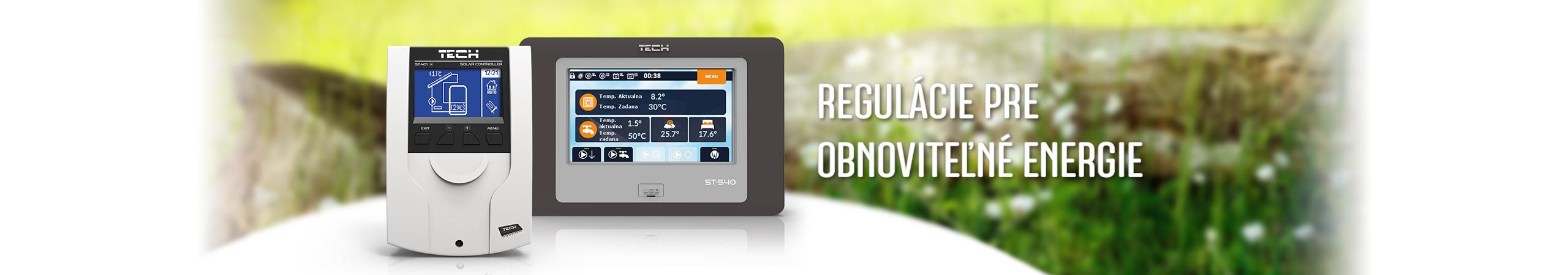 Pre obnoviteľné energie - TECH Sterowniki