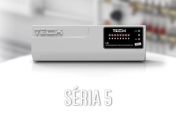 Séria 5 - drôtová zónová regulácia (8 zón) - TECH Sterowniki