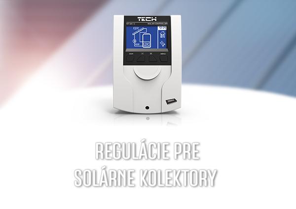 Regulátory pre slnečné kolektory - TECH Sterowniki
