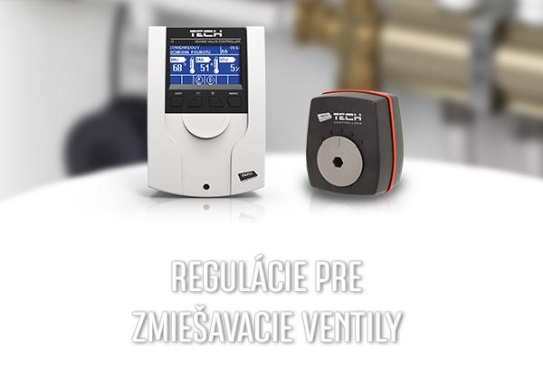 Pre zmiešavacie ventily - TECH Sterowniki